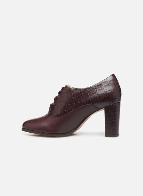 Bottines et boots Clarks Kaylin Ida Bordeaux vue face
