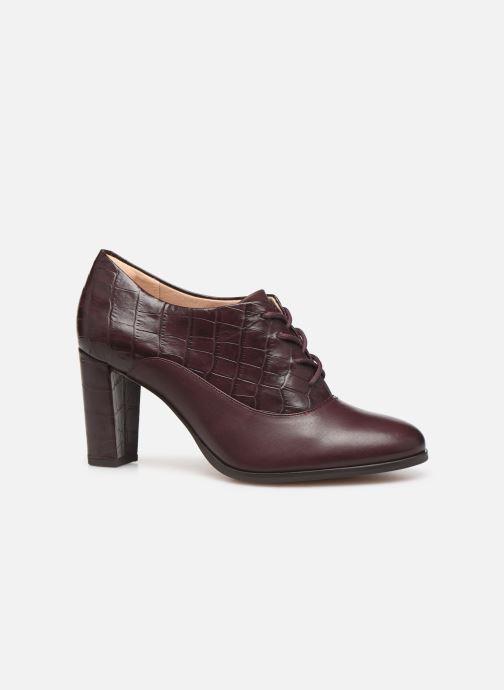Bottines et boots Clarks Kaylin Ida Bordeaux vue derrière