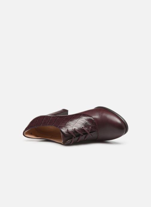 Bottines et boots Clarks Kaylin Ida Bordeaux vue gauche
