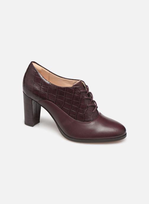 Bottines et boots Clarks Kaylin Ida Bordeaux vue détail/paire
