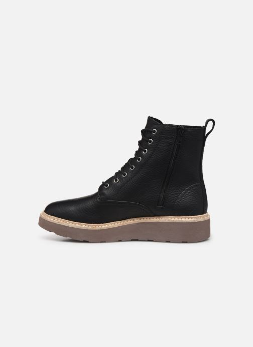 Boots en enkellaarsjes Clarks Trace Pine Zwart voorkant