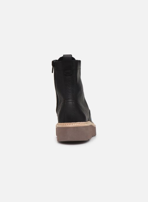 Ankle boots Clarks Trace Pine Black view from the right