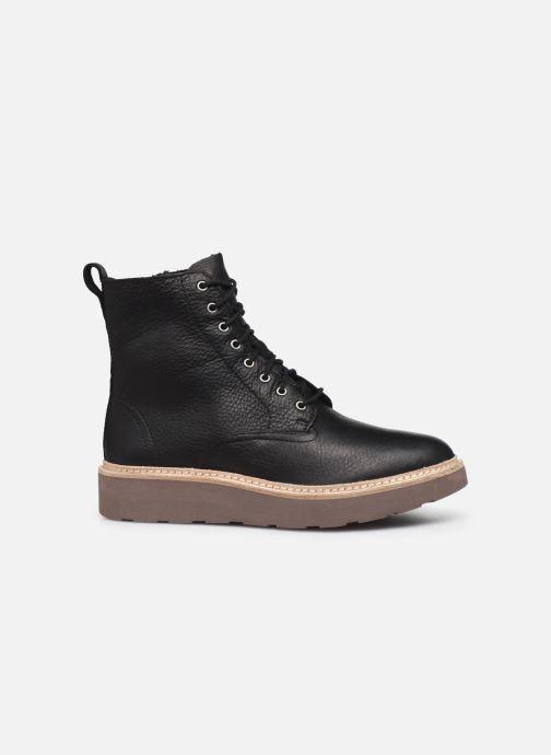 Boots en enkellaarsjes Clarks Trace Pine Zwart achterkant