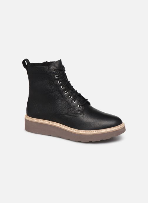 Ankle boots Clarks Trace Pine Black detailed view/ Pair view