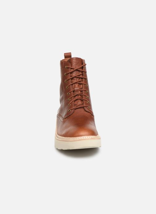Ankle boots Clarks Trace Pine Brown model view