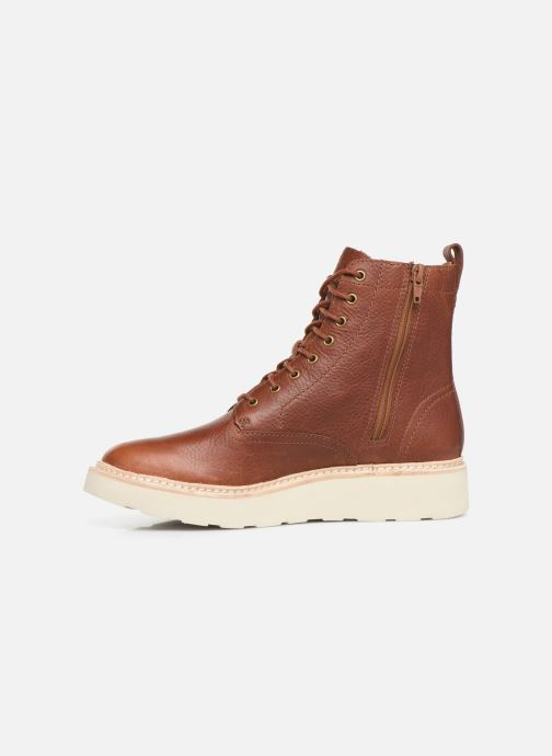 Ankle boots Clarks Trace Pine Brown front view