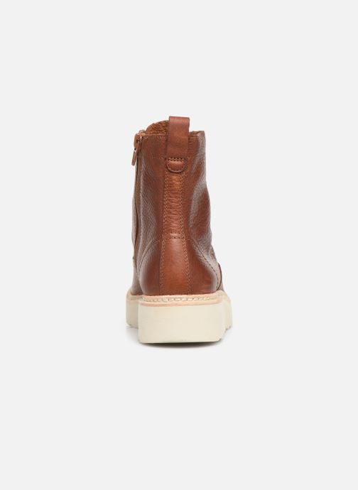 Ankle boots Clarks Trace Pine Brown view from the right