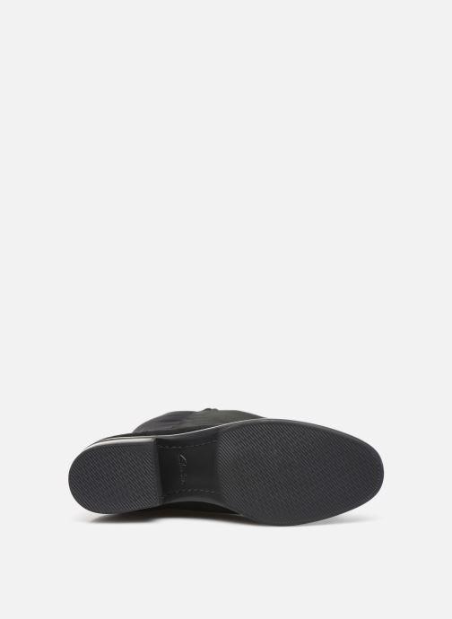 Stiefel Clarks Pure Caddy schwarz ansicht von oben
