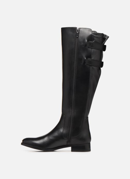 Boots & wellies Clarks Netley Ride Black front view
