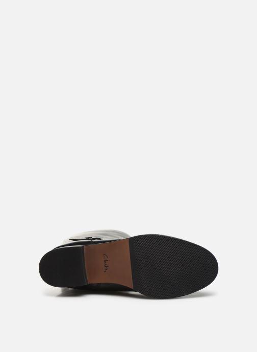 Clarks Netley Whirl (Zwart) - Laarzen  Zwart (Black leather) - schoenen online kopen
