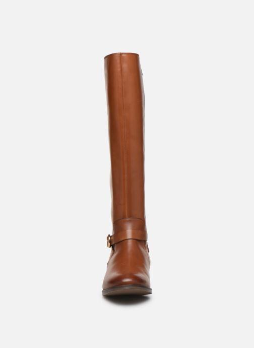 Stiefel Clarks Netley Whirl braun schuhe getragen