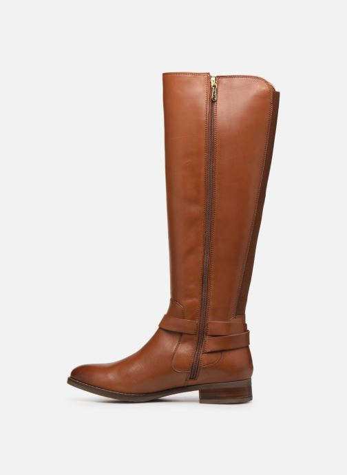 Boots & wellies Clarks Netley Whirl Brown front view