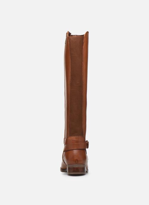 Stiefel Clarks Netley Whirl braun ansicht von rechts