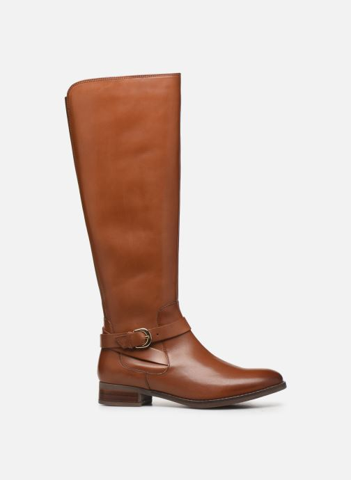 Boots & wellies Clarks Netley Whirl Brown back view