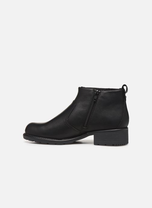 Ankle boots Clarks Orinoco Snug Black front view