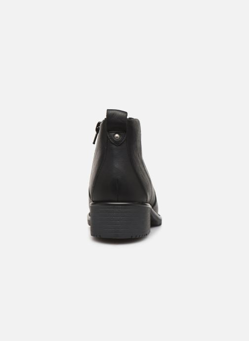 Ankle boots Clarks Orinoco Snug Black view from the right