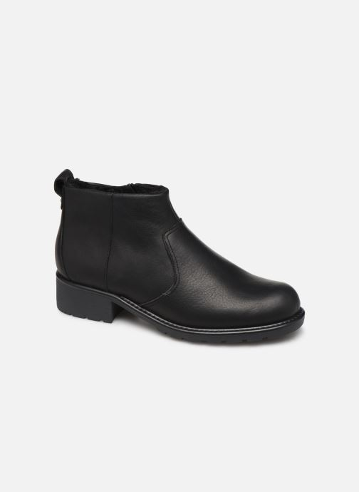 Ankle boots Clarks Orinoco Snug Black detailed view/ Pair view