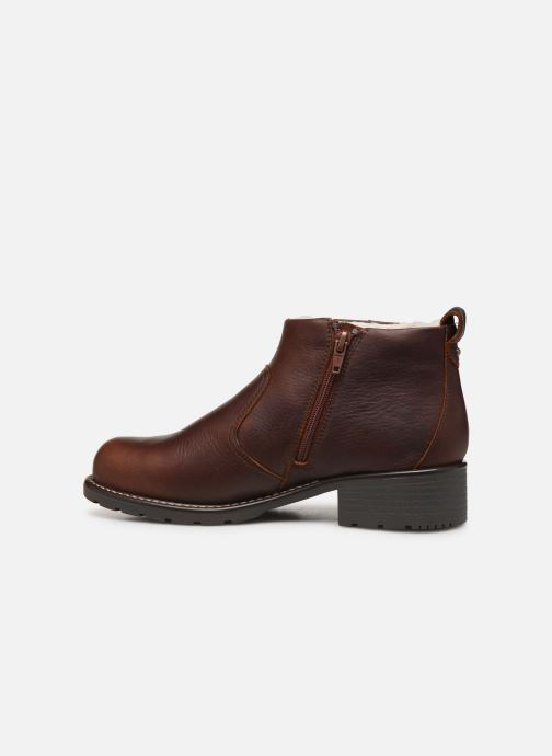 Bottines et boots Clarks Orinoco Snug Marron vue face