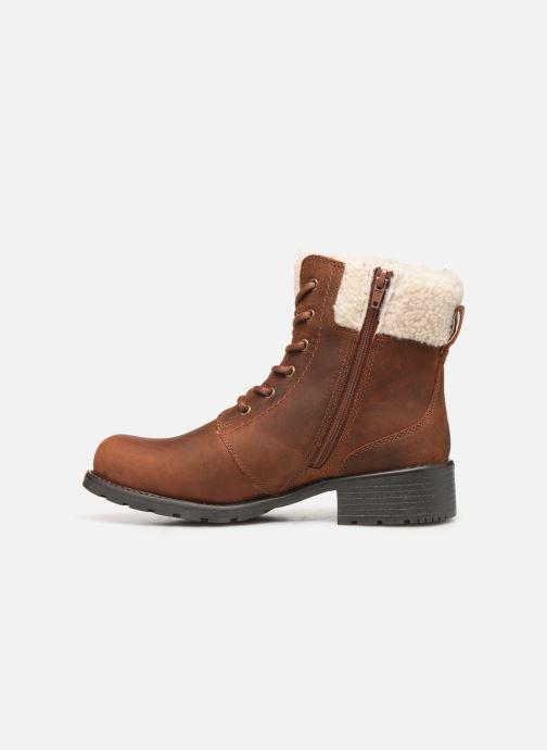 Boots en enkellaarsjes Clarks Orinoco Dusk Bruin voorkant