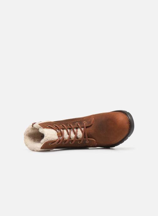 Boots en enkellaarsjes Clarks Orinoco Dusk Bruin links