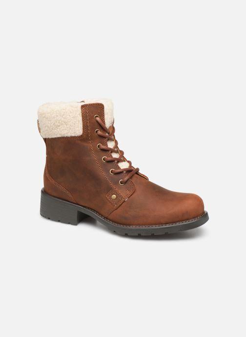 Boots en enkellaarsjes Clarks Orinoco Dusk Bruin detail