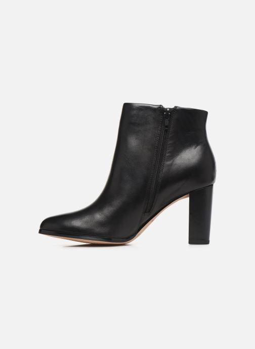 Ankle boots Clarks Kaylin Fern Black front view
