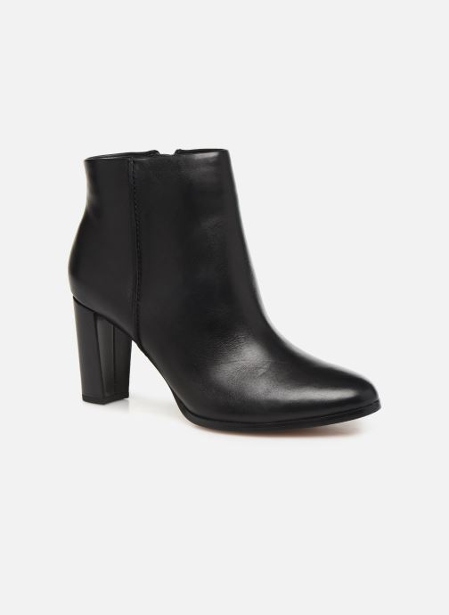 Ankle boots Clarks Kaylin Fern Black detailed view/ Pair view