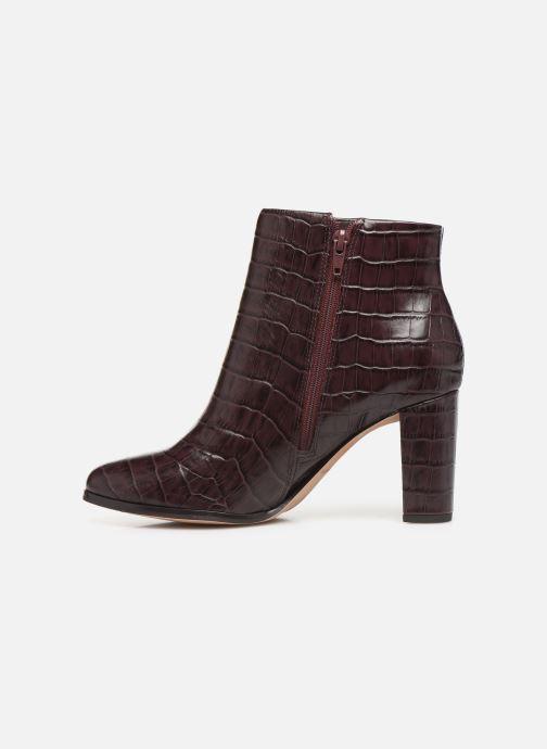 Bottines et boots Clarks Kaylin Fern Bordeaux vue face