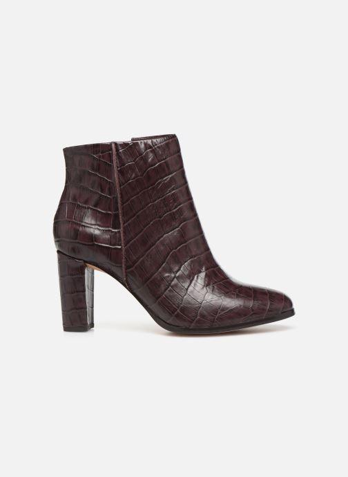 Bottines et boots Clarks Kaylin Fern Bordeaux vue derrière