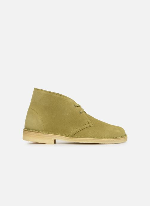 Botines  Clarks Originals Desert Boot. Verde vistra trasera