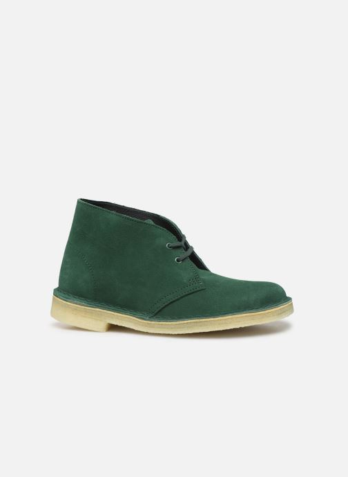 Ankelstøvler Clarks Originals Desert Boot. Grøn se bagfra