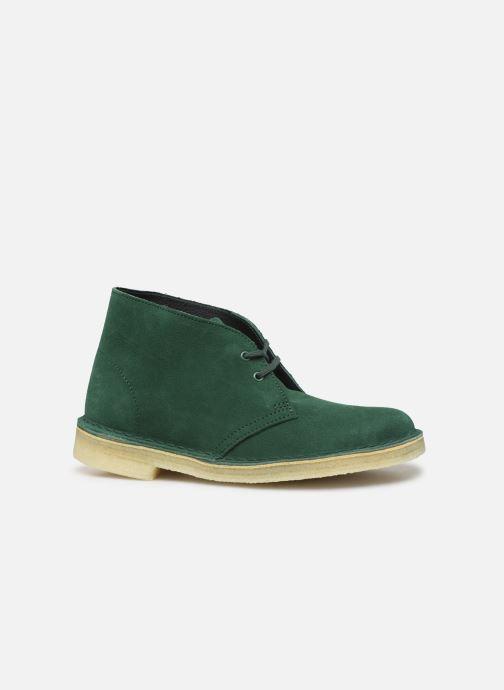 Stiefeletten & Boots Clarks Originals Desert Boot. grün ansicht von hinten