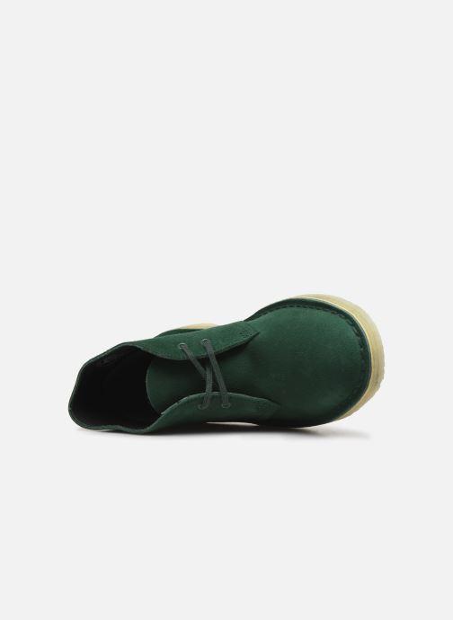 Ankelstøvler Clarks Originals Desert Boot. Grøn se fra venstre