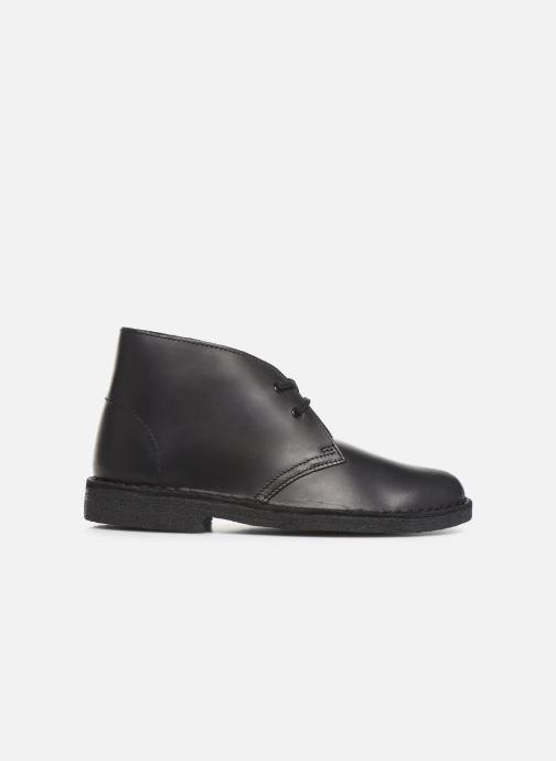 Bottines et boots Clarks Originals Desert Boot. Noir vue derrière