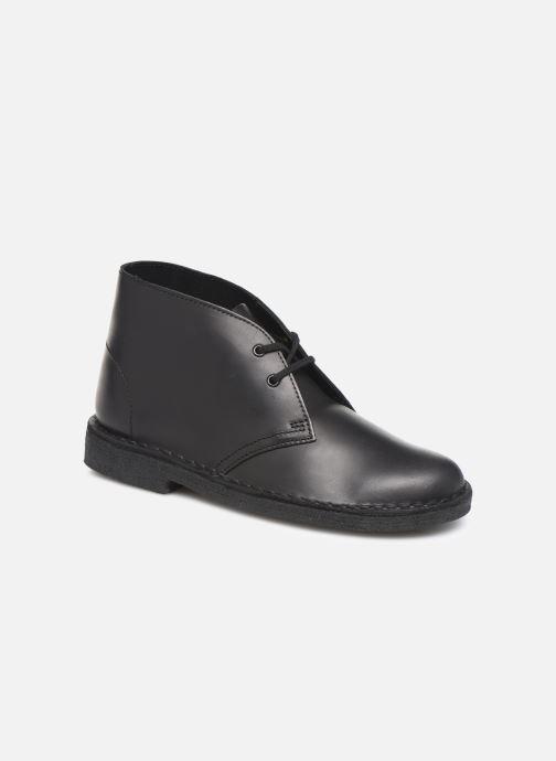 Bottines et boots Clarks Originals Desert Boot. Noir vue détail/paire