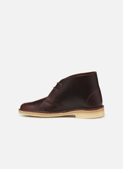 Ankle boots Clarks Originals Desert Boot. Brown front view