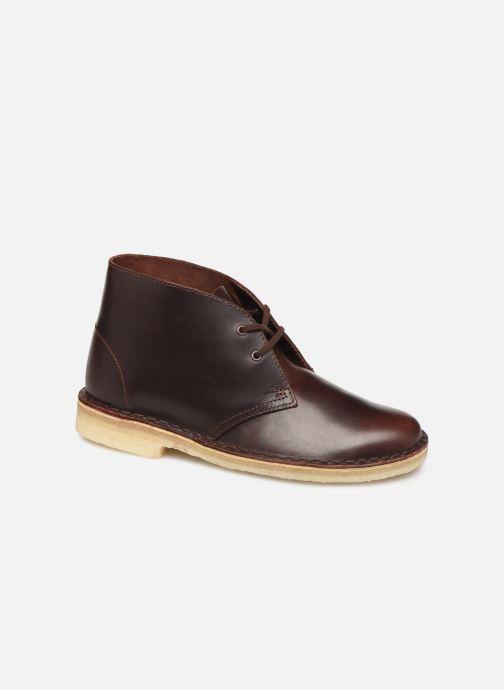 Bottines et boots Clarks Originals Desert Boot. Marron vue détail/paire