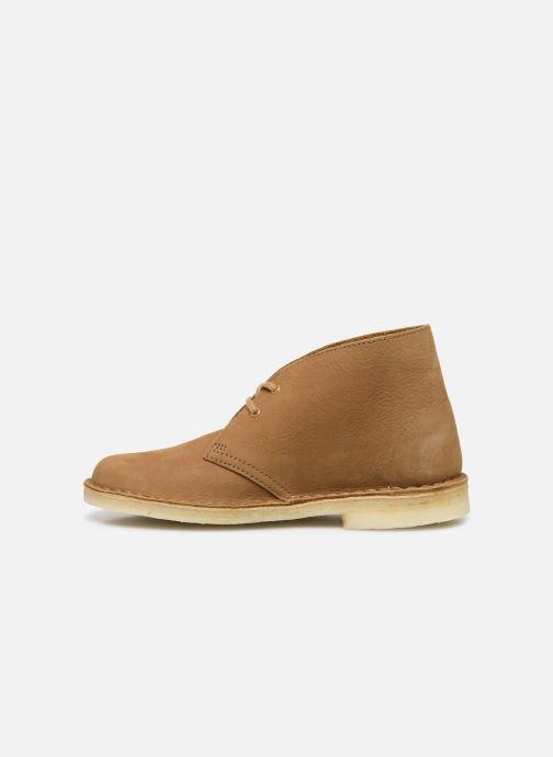 Stiefeletten & Boots Clarks Originals Desert Boot. braun ansicht von vorne