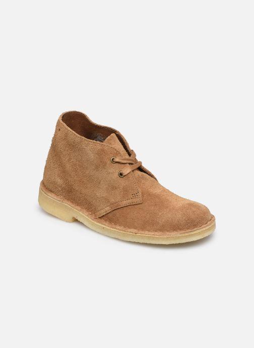 Botines  Clarks Originals Desert Boot. Marrón vista de detalle / par