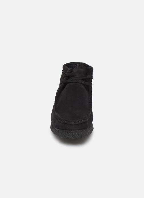 Bottines et boots Clarks Originals Wallabee Boot. Noir vue portées chaussures