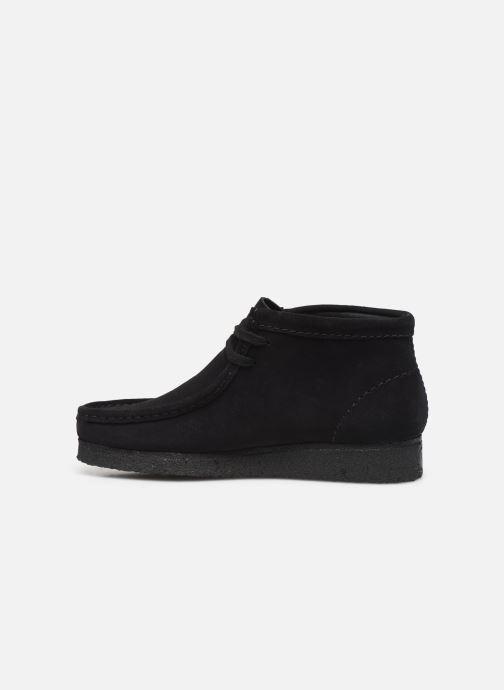 Bottines et boots Clarks Originals Wallabee Boot. Noir vue face