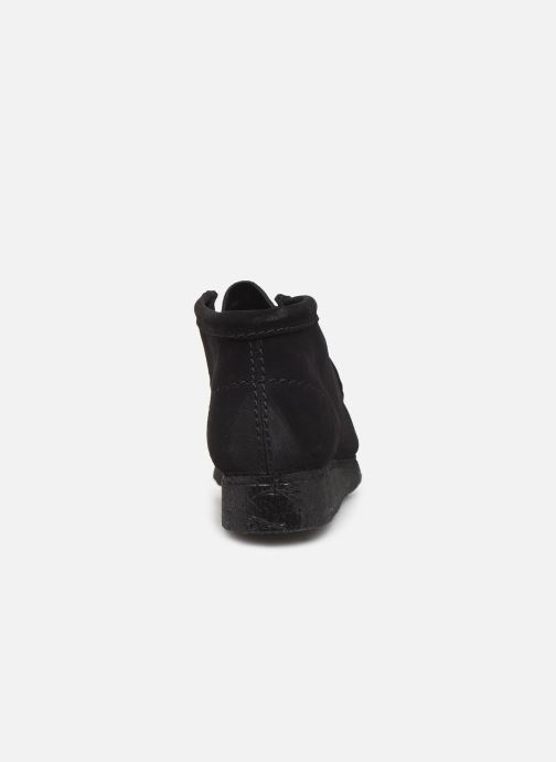 Ankle boots Clarks Originals Wallabee Boot. Black view from the right