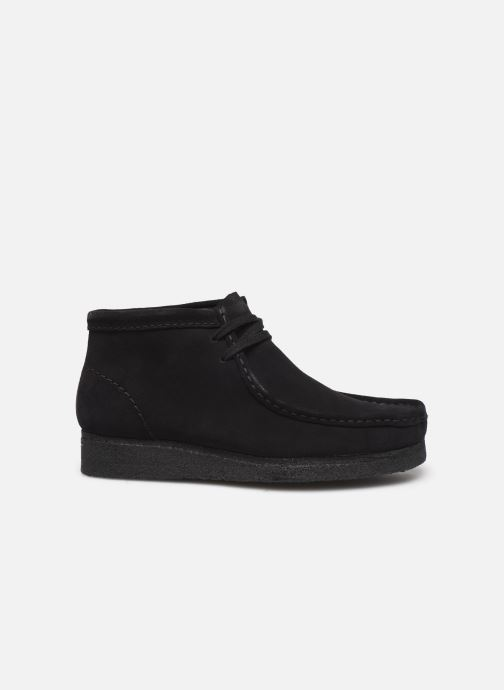 Ankle boots Clarks Originals Wallabee Boot. Black back view