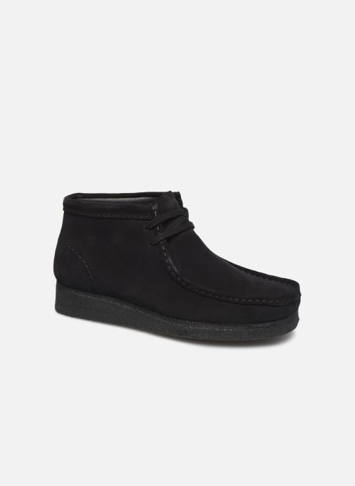 Ankle boots Clarks Originals Wallabee Boot. Black detailed view/ Pair view