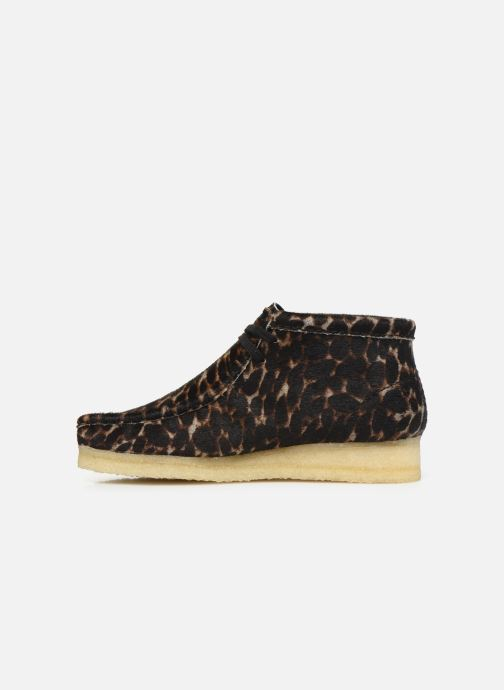 Bottines et boots Clarks Originals Wallabee Boot. Multicolore vue face