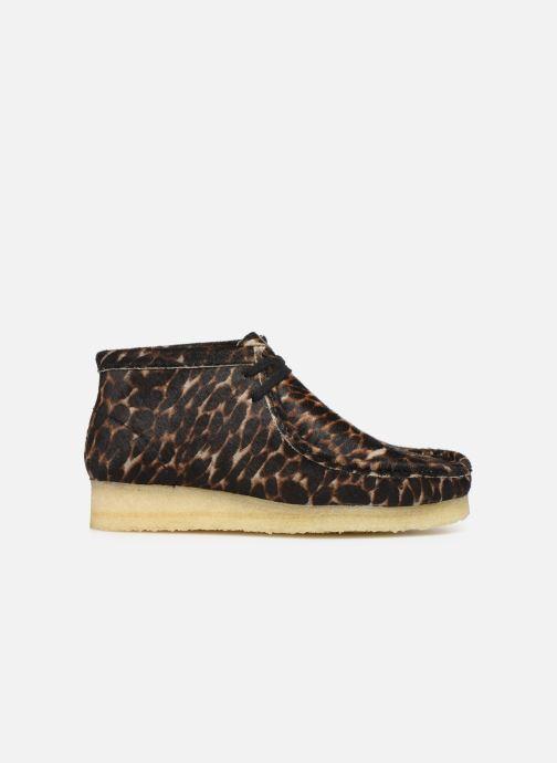 Bottines et boots Clarks Originals Wallabee Boot. Multicolore vue derrière