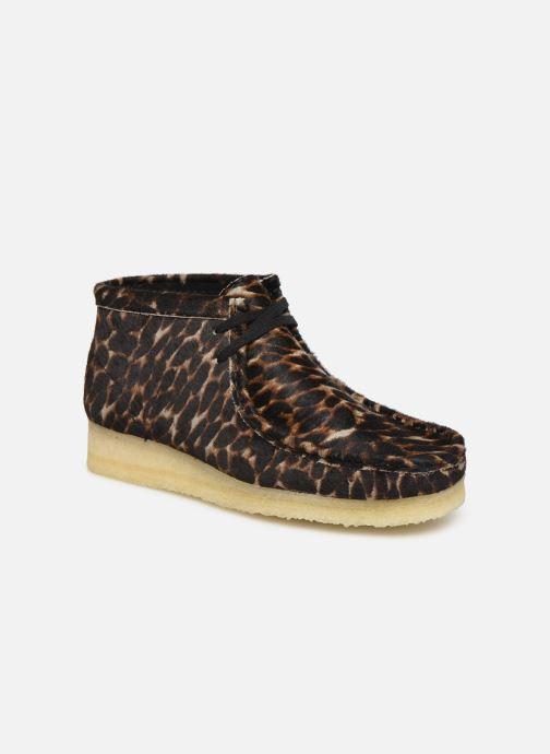 Bottines et boots Clarks Originals Wallabee Boot. Multicolore vue détail/paire