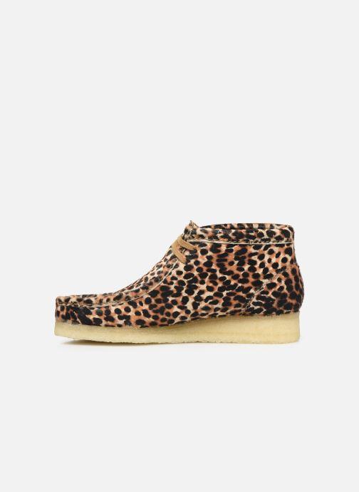 Bottines et boots Clarks Originals Wallabee Boot. Multicolore vue face