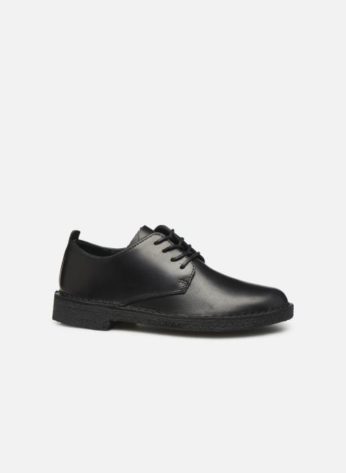 Zapatos con cordones Clarks Originals Desert London. Negro vistra trasera