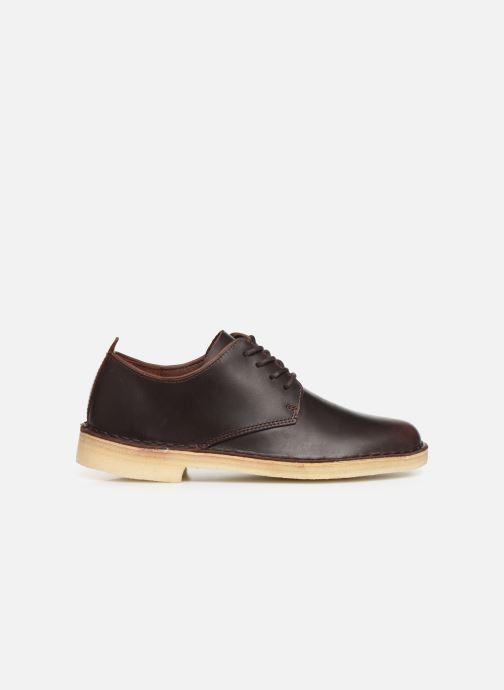 Zapatos con cordones Clarks Originals Desert London. Marrón vistra trasera